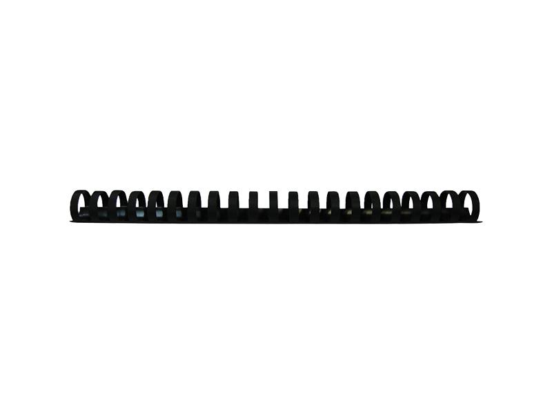 Пружины для переплета Гелеос 14мм 100шт Black BCA4-14B обложки для переплета картонные гелеос cca3w а3 тиснение под кожу белые 100 шт
