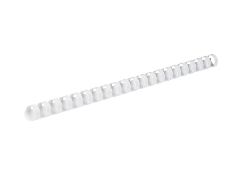 Пружины для переплета Гелеос 12мм 100шт White BCA4-12W