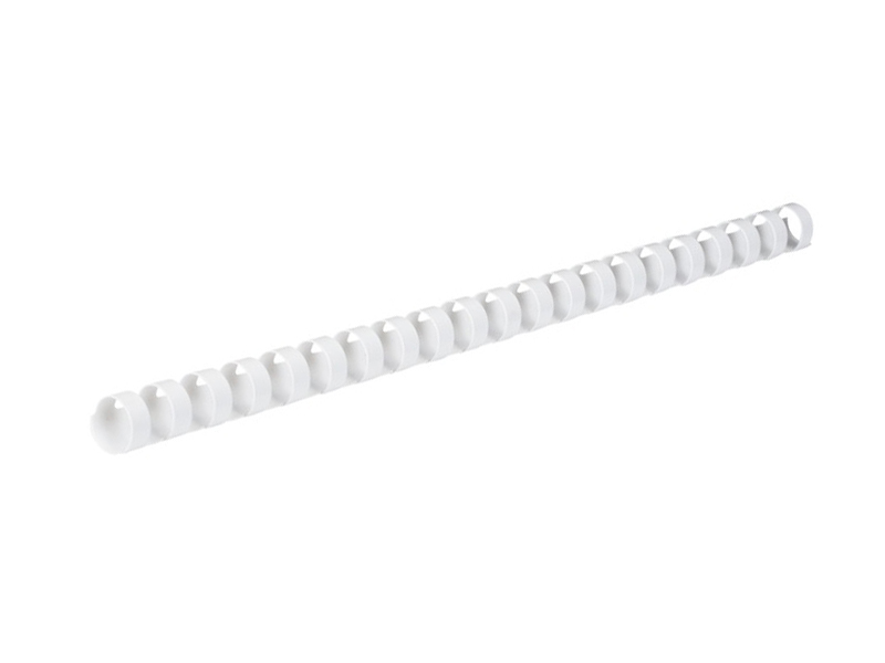 Пружины для переплета Гелеос 8мм 100шт White BCA4-8W