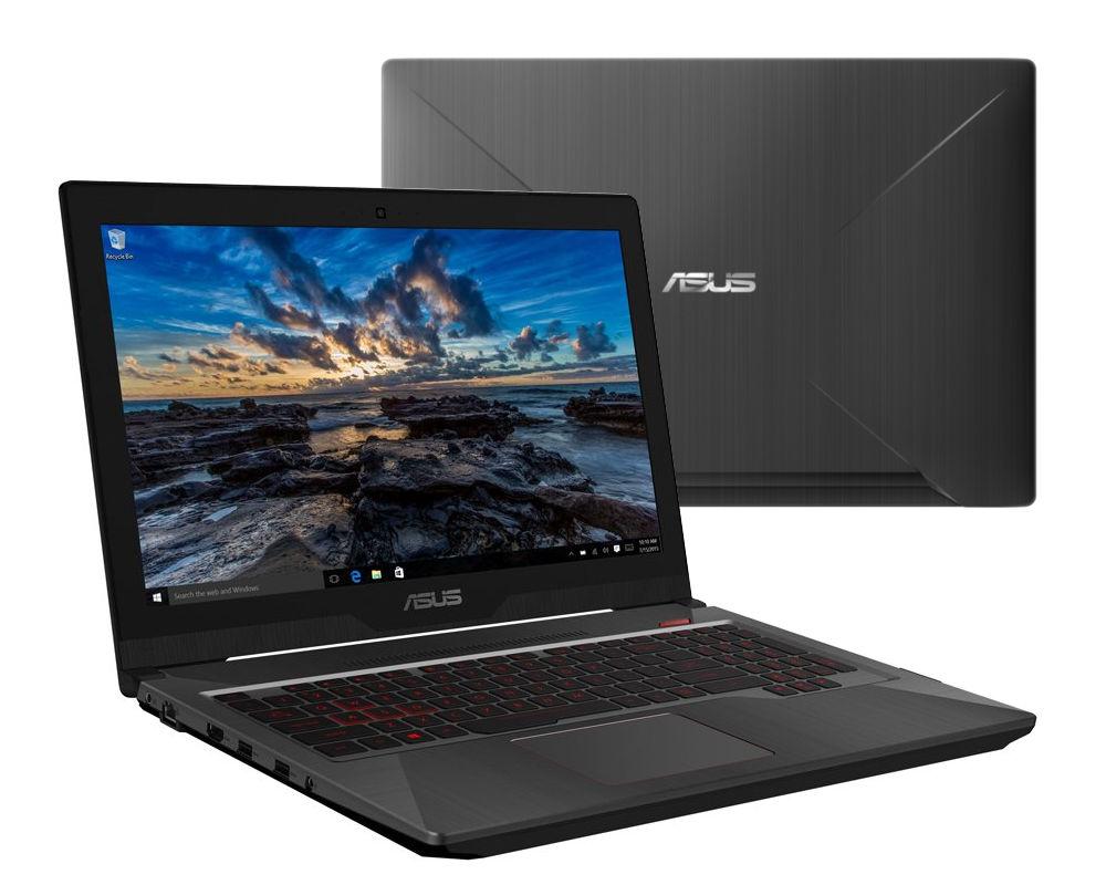 Ноутбук ASUS ROG FX503VD-E4235T 90NR0GN1-M04540 (Intel Core i5-7300HQ 2.5 GHz/8192Mb/256Gb SSD/No ODD/nVidia GeForce GTX 1050 2048Mb/Wi-Fi/Cam/15.6/1920x1080/Windows 10 64-bit) все цены