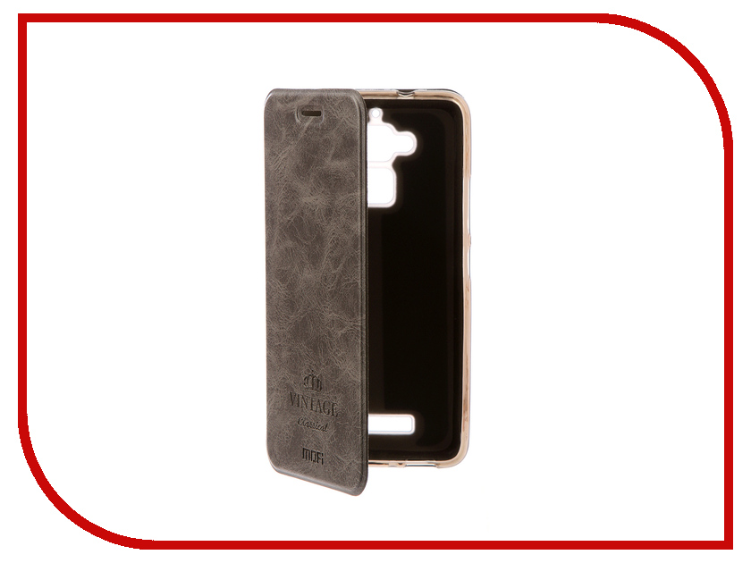 Аксессуар Чехол ASUS ZenFone 3 Max ZC520TL Mofi Vintage Grey 15024 luxcase защитная пленка для asus zenfone 3 max zc520tl суперпрозрачная