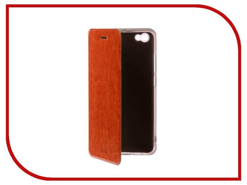 Аксессуар Чехол Xiaomi Redmi Note 5A Prime Mofi Vintage Brown 15734 чехол для xiaomi redmi note 5a prime prime book черный
