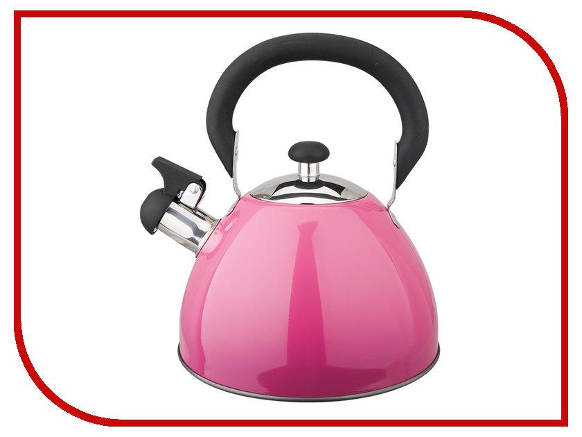 Чайник Webber 2.5L Pink BE-0583 webber вок be 904 28