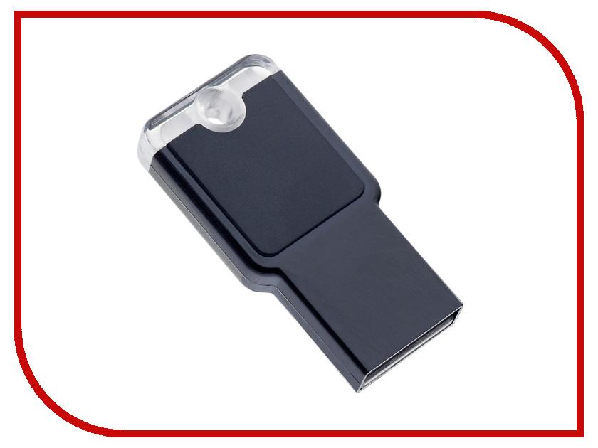 USB Flash Drive 16Gb - Perfeo M01 Black PF-M01B016