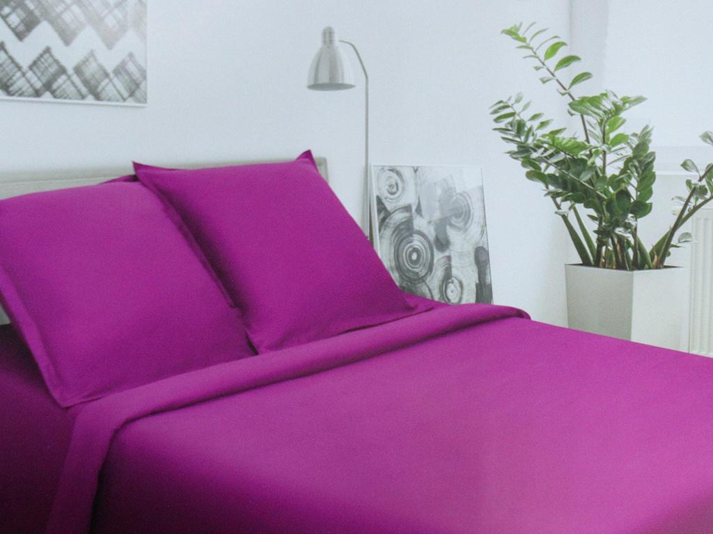 Постельное белье Этель Пурпурное сияние Комплект 2 спальный Сатин 2594344