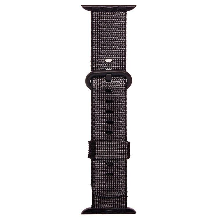все цены на Аксессуар Ремешок Activ Sport плетеный нейлон для APPLE Watch 38mm Black 80247 онлайн