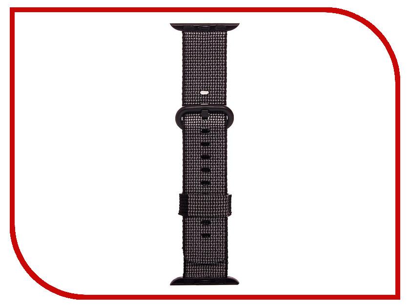 все цены на Аксессуар Ремешок Activ Sport плетеный нейлон для APPLE Watch 42mm Black 80250
