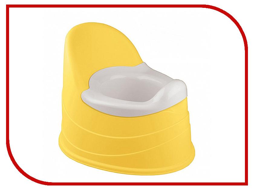 Горшок Бытпласт ЯВ130116 Yellow