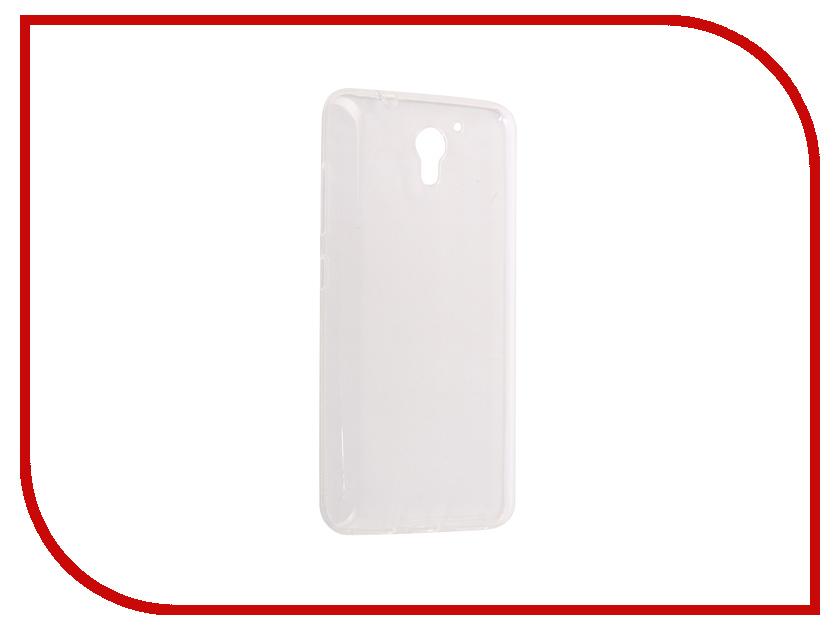 Аксессуар Чехол ZTE A510 Pero Silicone Transparent