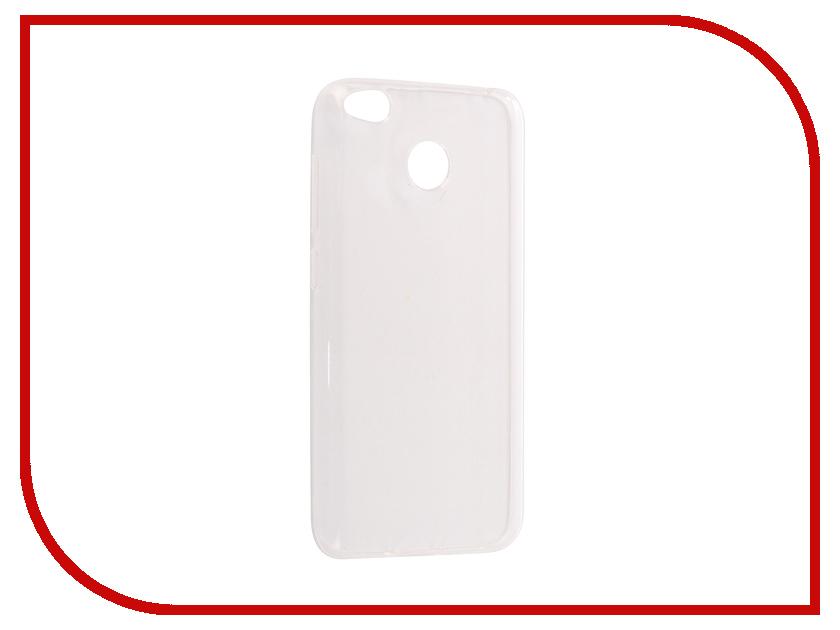 Аксессуар Чехол Xiaomi Redmi 4X Pero Silicone Transparent аксессуар чехол xiaomi redmi 4 onext silicone transparent 70500
