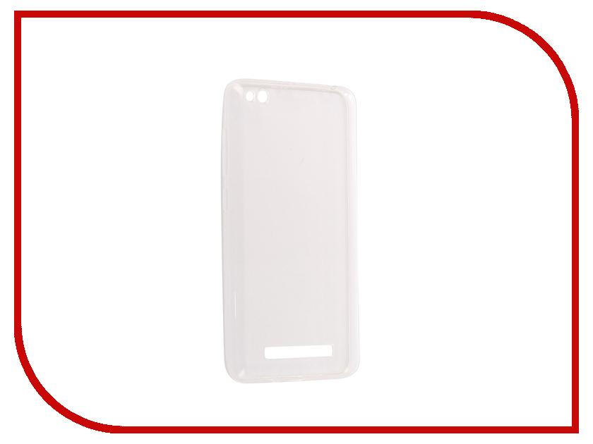Аксессуар Чехол Xiaomi Redmi 4A Pero Silicone Transparent аксессуар чехол xiaomi redmi 4 onext silicone transparent 70500