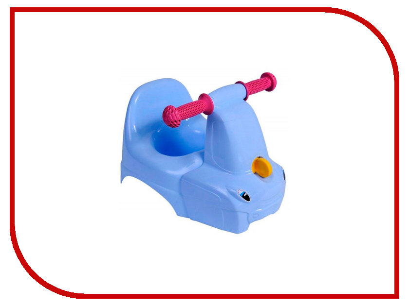 Горшок-игрушка Пластик репаблик Грузовичок ЯВ136504 Light Blue