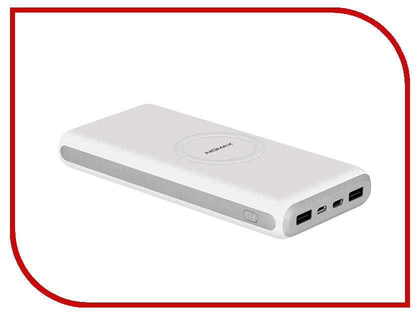 Аккумулятор MOMAX Q.Power2X Wireless 20000mAh IP82 White