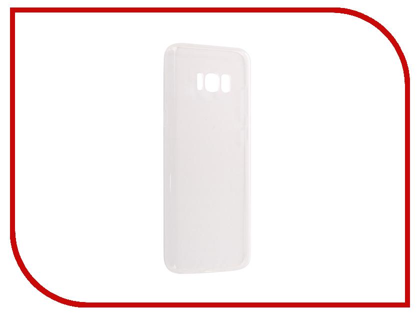 Аксессуар Чехол Samsung Galaxy S8 Plus Pero Silicone Transparent оригинальный samsung galaxy s8 s8 plus nillkin 3d ap pro полноэкранный экранный протектор экрана