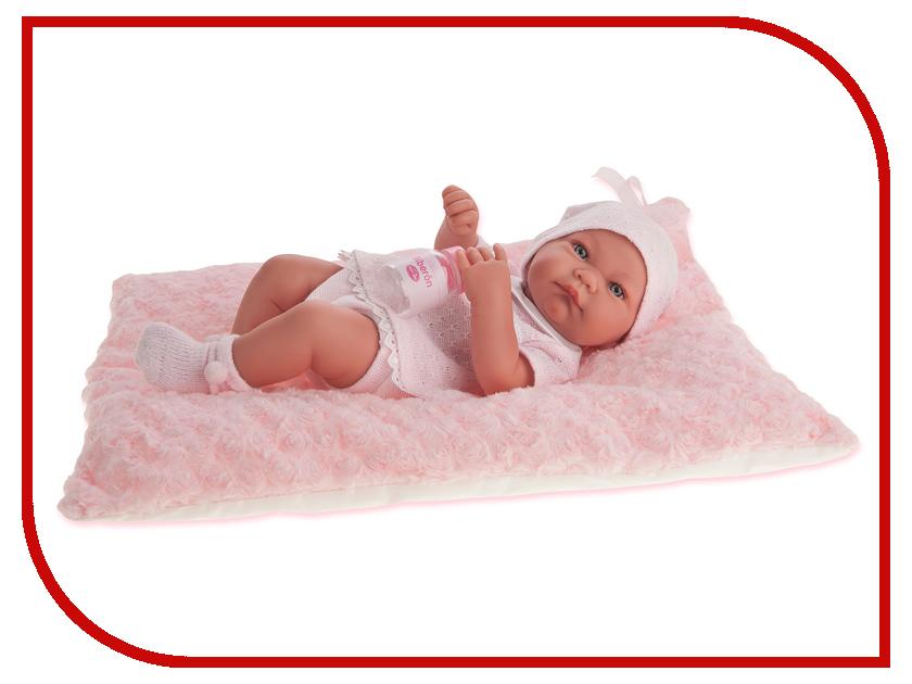 Кукла Antonio Juan Кукла-младенец Ника Pink 5054P кукла antonio juan кукла ланита pink 1110p
