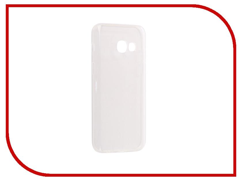 Аксессуар Чехол Samsung Galaxy A3 2017 Pero Silicone Transparent аксессуар чехол samsung galaxy a3 2017 cojess tpu 0 3mm transparent