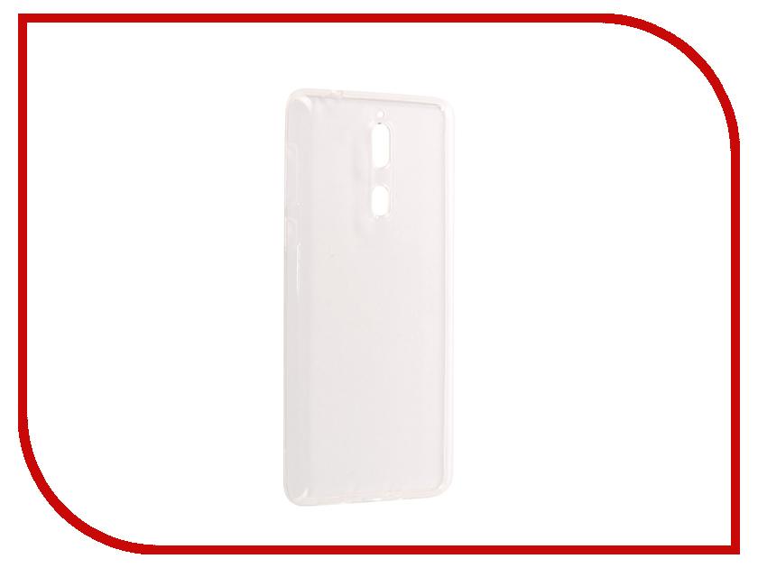 Аксессуар Чехол Nokia 8 Pero Silicone Transparent