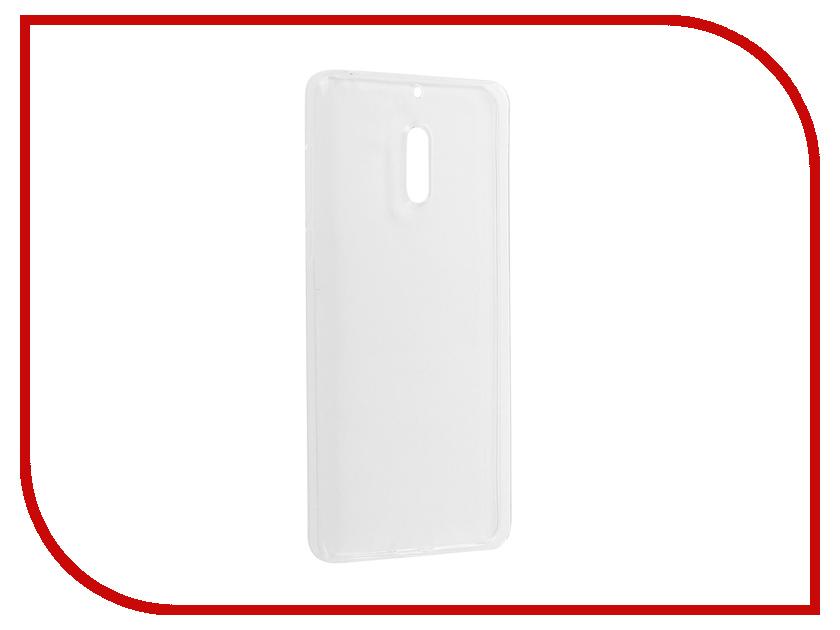Аксессуар Чехол Nokia 6 Pero Silicone Transparent