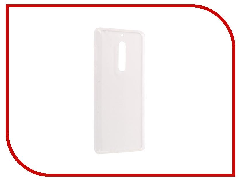 Аксессуар Чехол Nokia 5 Pero Silicone Transparent nokia 5