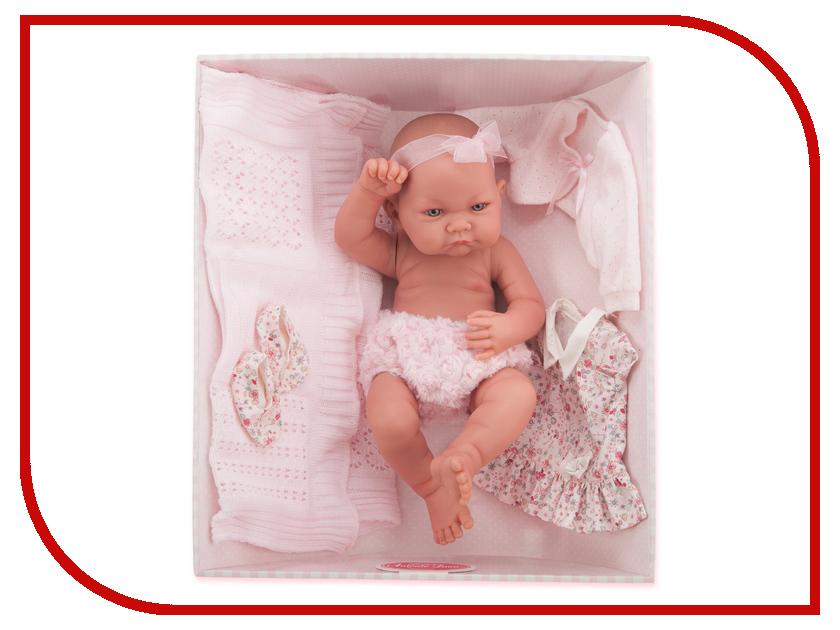 Кукла Antonio Juan Кукла-младенец Эльза 5073P кукла antonio juan кукла ланита pink 1110p
