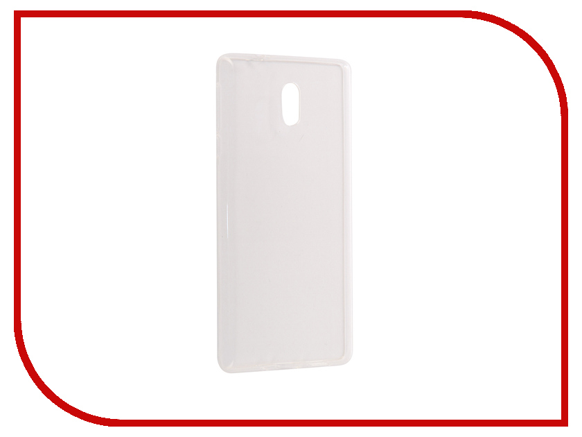 Аксессуар Чехол Nokia 3 Pero Silicone Transparent