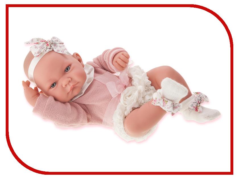 Кукла Antonio Juan Кукла-младенец Эмма 5096W кукла antonio juan кукла ланита pink 1110p