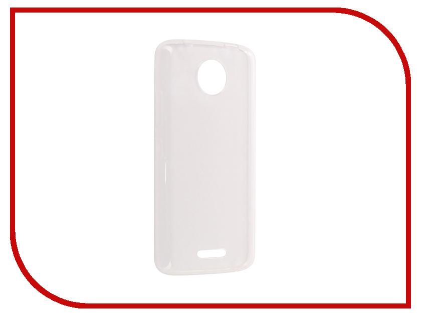 Аксессуар Чехол для Motorola Moto C Pero Silicone Transparent