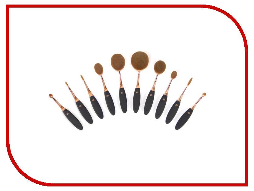 Профессиональный набор кистей для макияжа Rio BRCH дорожный набор кистей для макияжа