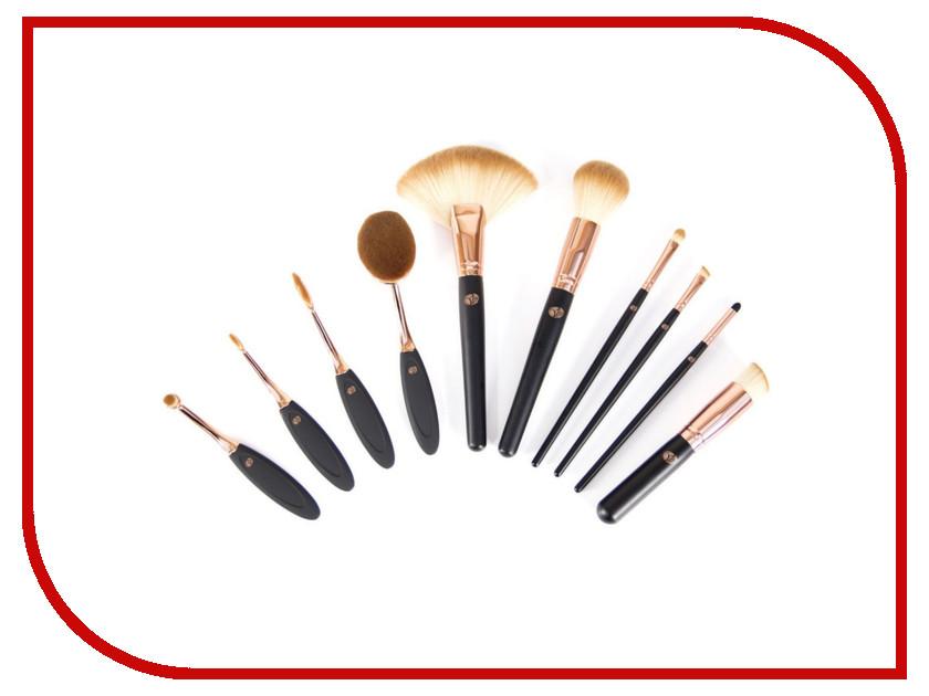 Профессиональный набор кистей для макияжа Rio BRCO дорожный набор кистей для макияжа