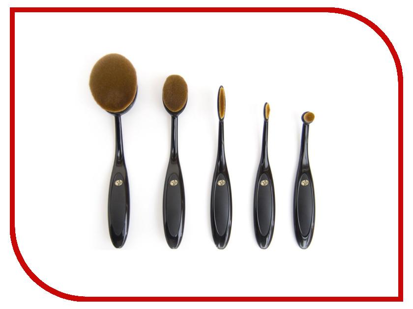 Профессиональный набор кистей для макияжа Rio BROM дорожный набор кистей для макияжа