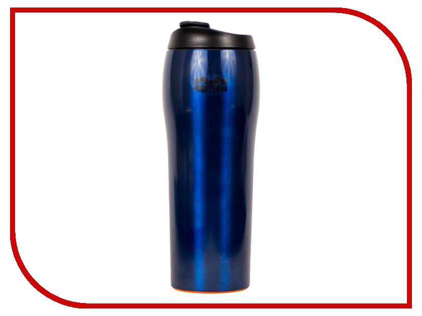 Термокружка Mighty Mug Go 530ml Blue 1916 термокружки mighty mug непадающий тамблер mm mini 12oz