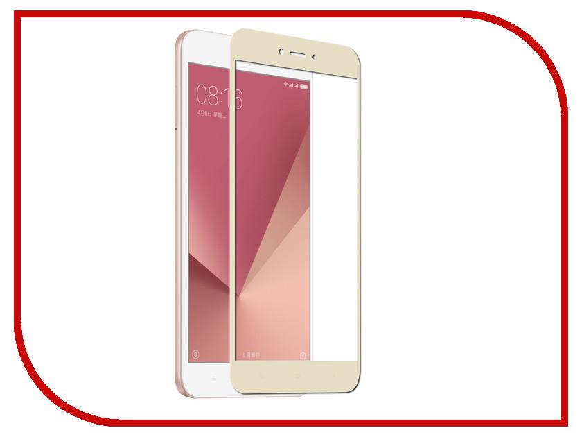 Аксессуар Защитное стекло Xiaomi Redmi Note 5A Pero 2.5D Gold аксессуар защитное стекло xiaomi redmi note 3 5 5 red line tempered glass