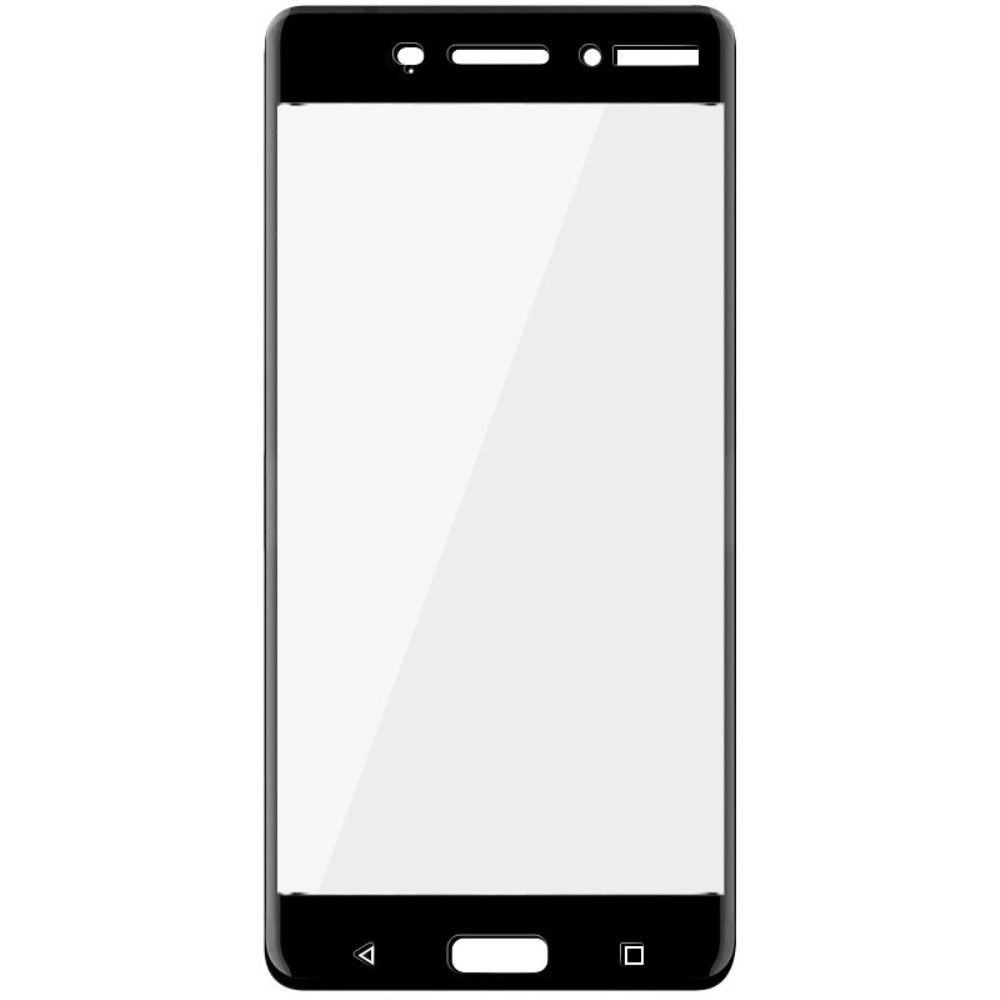 Аксессуар Защитное стекло Pero для Nokia 6 2.5D Black