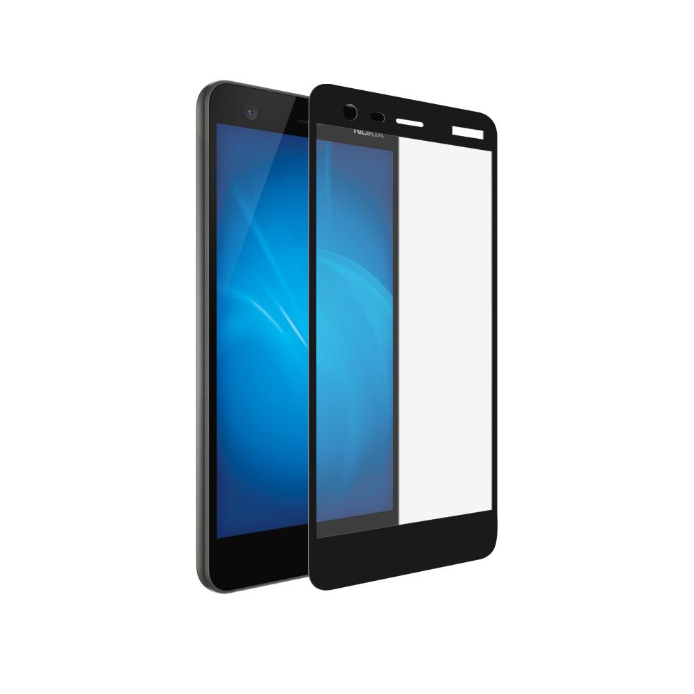 Аксессуар Защитное стекло Pero для Nokia 2 2.5D Black