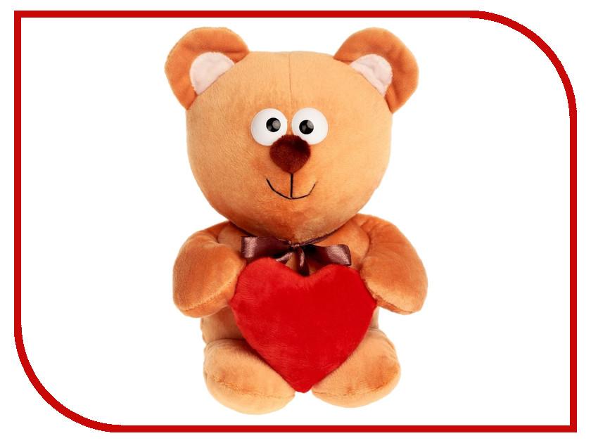 Игрушка Princess Love Мишутка с сердцем 30cm Beige 2057706 санки galaxy мишутка 1 универсал серебристые