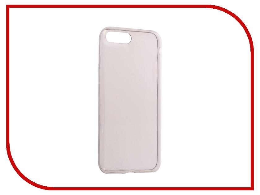 Аксессуар Чехол Snoogy Creative Silicone 0.3mm для APPLE iPhone 7 Plus Black черный одуванчики стиль тиснение классический откидная крышка с подставкой функция и слот кредитной карты для samsung galaxy tab e t560