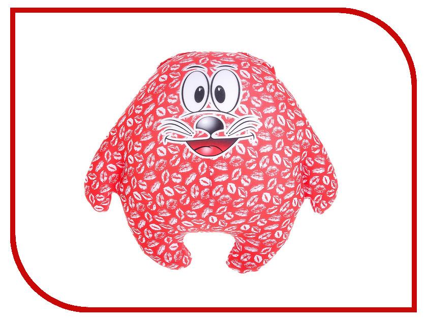 Игрушка антистресс Мнушки Кот Лаки Red 164052 оранжевый кот подушка игрушка антистресс кот спортсмен