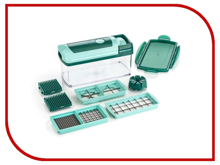 Овощерезка As Seen On TV Nicer Dicer Fusion овощерезка as seen on tv super chopper fm 4005