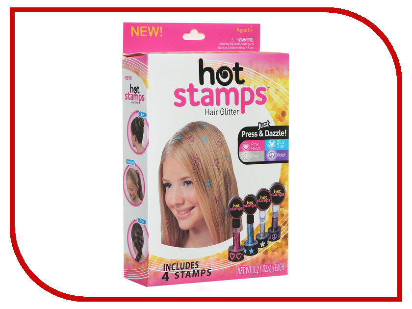 Штампы для волос As Seen On TV НОТ STAMPS