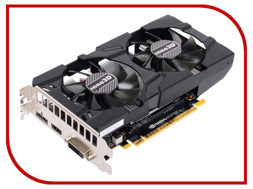 Видеокарта Inno3D GeForce GTX 1050 Twin X2 1354Mhz PCI-E 3.0 2048Mb 7000Mhz 128 bit DVI HDMI HDCP N1050-1DDV-E5CM pci e to