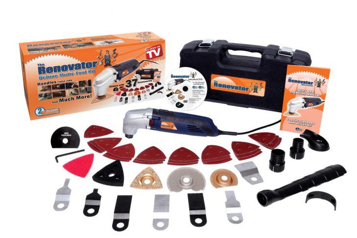 Шлифовальная машина As Seen On TV Renovator + Набор Multi Tool