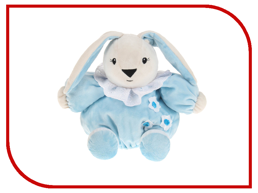 Игрушка Princess Love Зайчик-погремушка 24cm Blue 2951863 погремушки plan toys погремушка зайчик