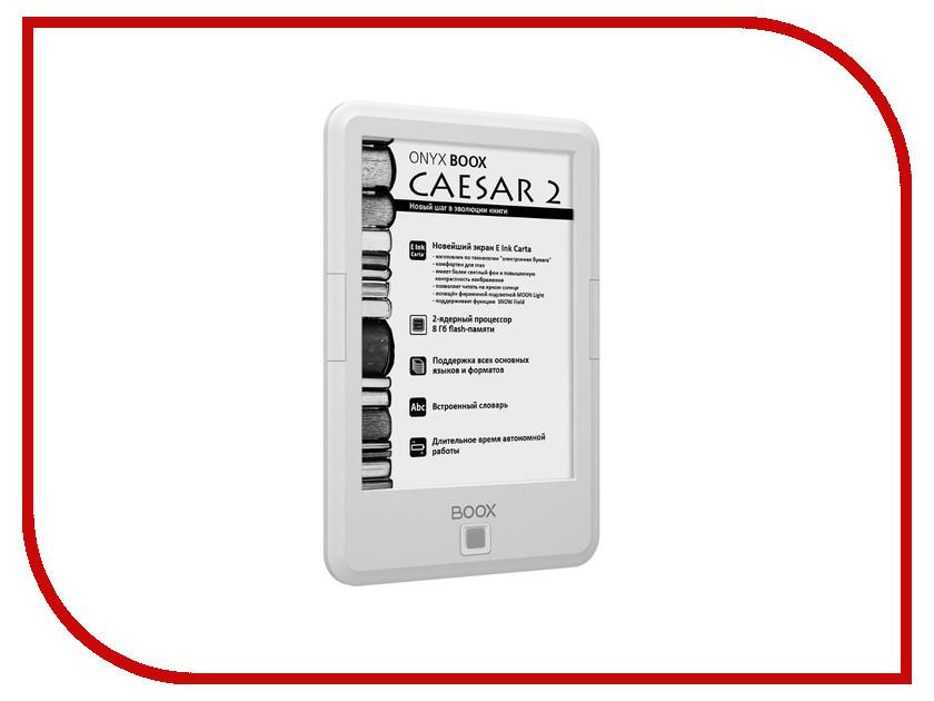 Zakazat.ru: Электронная книга ONYX BOOX Caesar 2 White