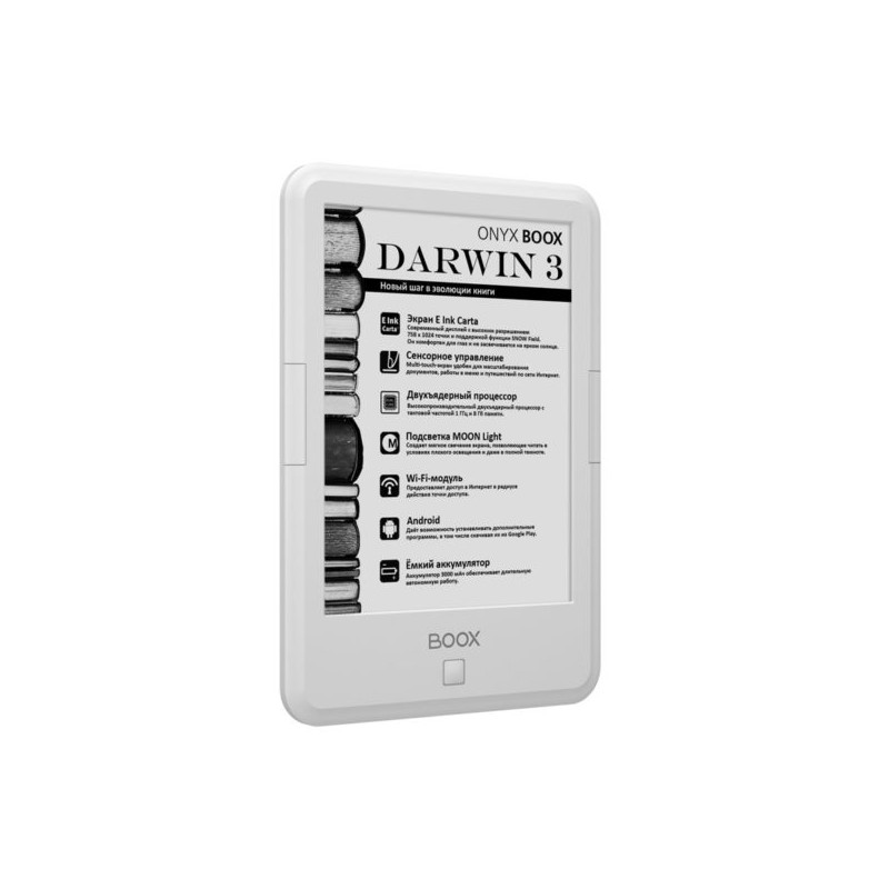 Электронная книга Onyx Boox Darwin 3 White цена и фото