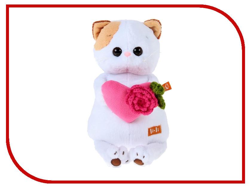 Здесь можно купить Кошечка Ли-Ли с розовым сердечком  Игрушка Басик и Ко Кошечка Ли-Ли с розовым сердечком 24cm 2059570 Мягкие игрушки