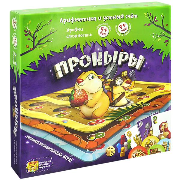 Настольная игра Банда Умников Проныры BU-091