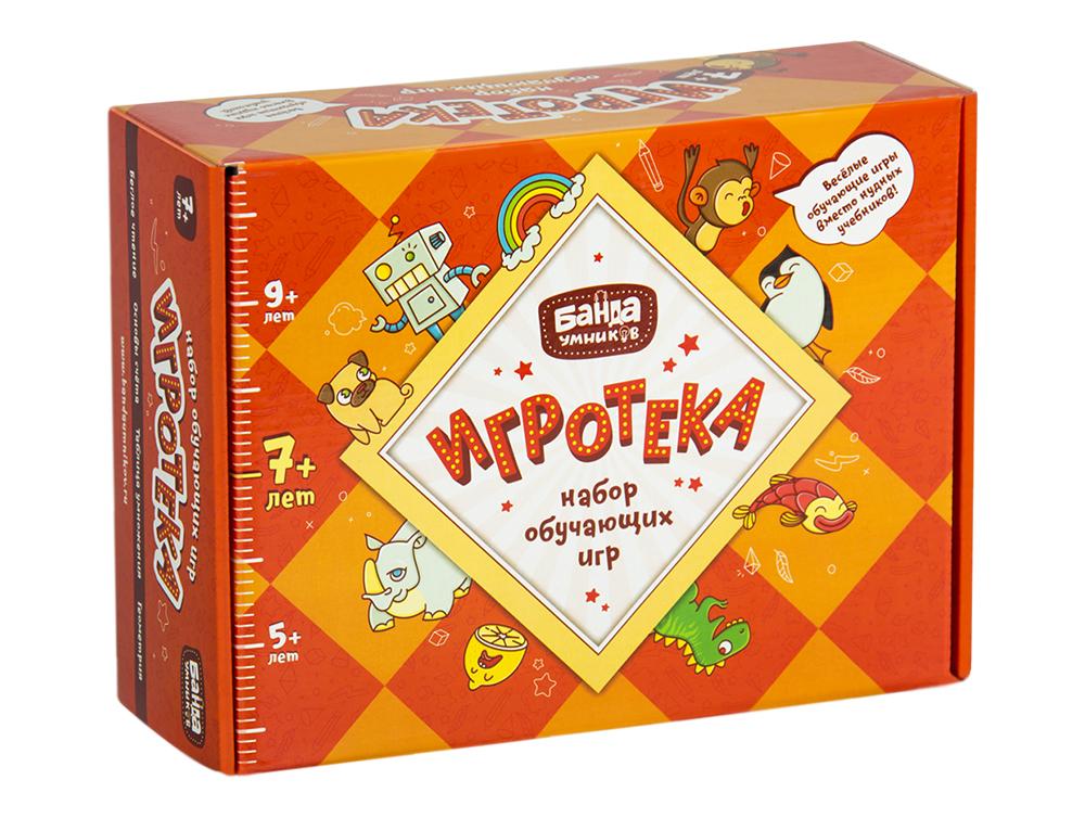 Настольная игра Банда Умников Игротека 7+ BU-081 настольная игра банда умников проныры bu 091