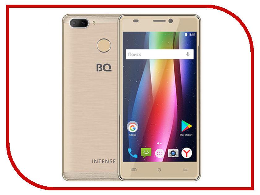 Сотовые / мобильные телефоны, смартфоны 5005L  Сотовый телефон BQ 5005L Intense Gold Brushed
