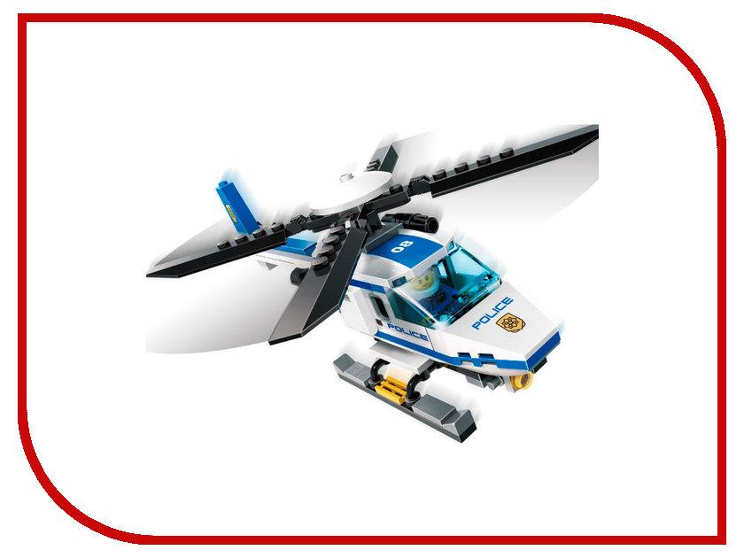 Конструктор GUDI Полиция- Вертолет 111 дет. 9308 конструктор gudi космолет 105 дет 8608