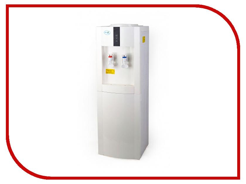 Кулер Aqua Well 16L-E White-Grey К2890 кулер для воды lesoto 16 l c e blue silver